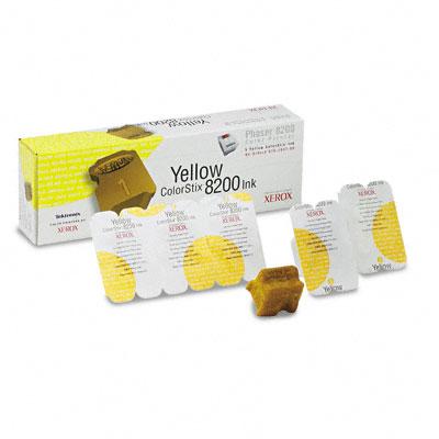 Original Xerox 016204700 5x Yellow Toner Cartridge