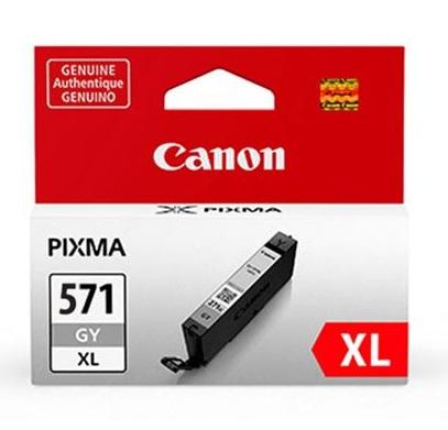 Original Canon CLI-571GYXL High Capacity Grey Ink Cartridge (0335C001)