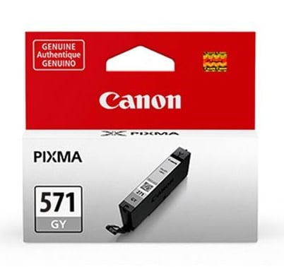 Original Canon CLI-571GY Grey Ink Cartridge (0389C001)