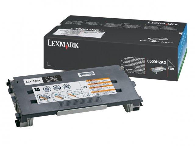 Original Lexmark 0C500H2KG Black Toner Cartridge