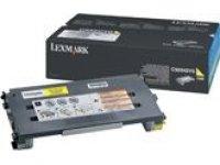 Original Lexmark 0C500H2YG Yellow Toner Cartridge