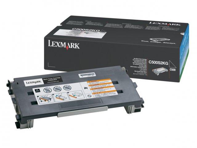 Original Lexmark 0C500S2KG Black Toner Cartridge