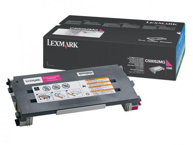 Original Lexmark 0C500S2MG Magenta Toner Cartridge