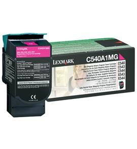 Original Lexmark 0C540A1MG Magenta Toner Cartridge