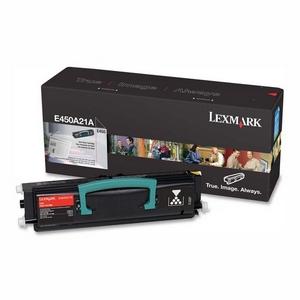 Original Lexmark 0E450A11E Black Toner Cartridge