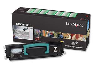Original Lexmark 0E450H11E Black Toner Cartridge