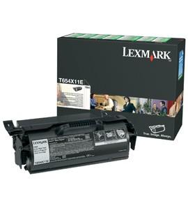 Original Lexmark 0T654X11E Black Toner Cartridge