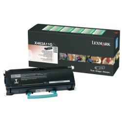 Original Lexmark 0X463A11G Black Toner Cartridge