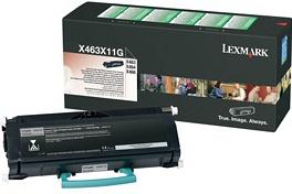 Original Lexmark 0X463X11G Black Toner Cartridge