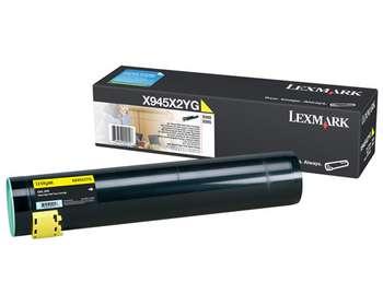 Original Lexmark 0X945X2YG Yellow Toner Cartridge