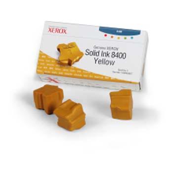 Original Xerox 108R00607 3x Yellow Toner Cartridge
