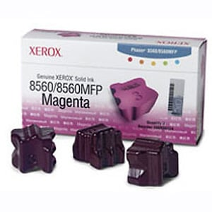 Original Xerox 108R00724 3x Magenta Toner Cartridge