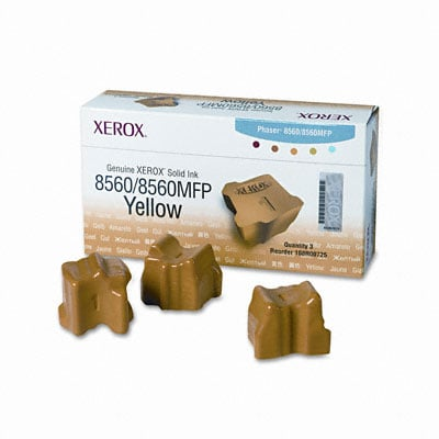 Original Xerox 108R00725 3x Yellow Toner Cartridge
