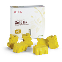 Original Xerox 108R00748 6x Yellow Toner Cartridge