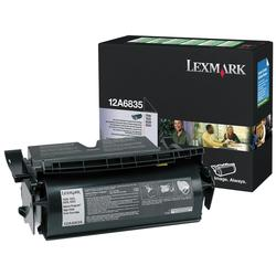 Original Lexmark 12A6835 Black Toner Cartridge