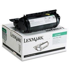 Original Lexmark 12A7460 Black Toner Cartridge