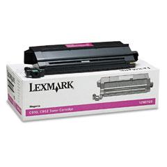 Original Lexmark 12N0769 Magenta Toner Cartridge