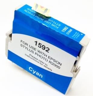 Compatible Epson T1592 Cyan Ink Cartridge