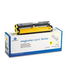 Original Konica Minolta 1710517-002 Yellow Toner Cartridge
