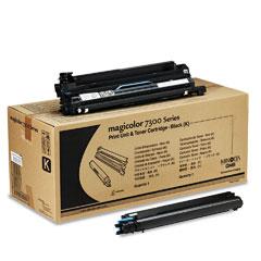 Original Konica Minolta 1710532-001 Black Toner Cartridge (DRUM+TONER)