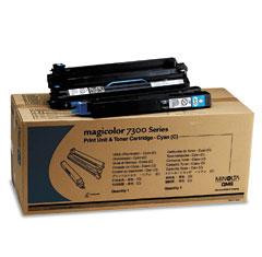 Original Konica Minolta 1710532-004 Cyan Print Unit