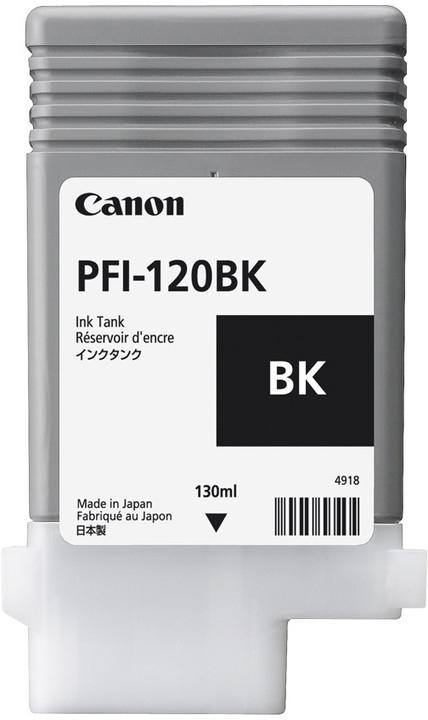 Canon Original PFI120BK Black Inkjet Cartridge 2885C001