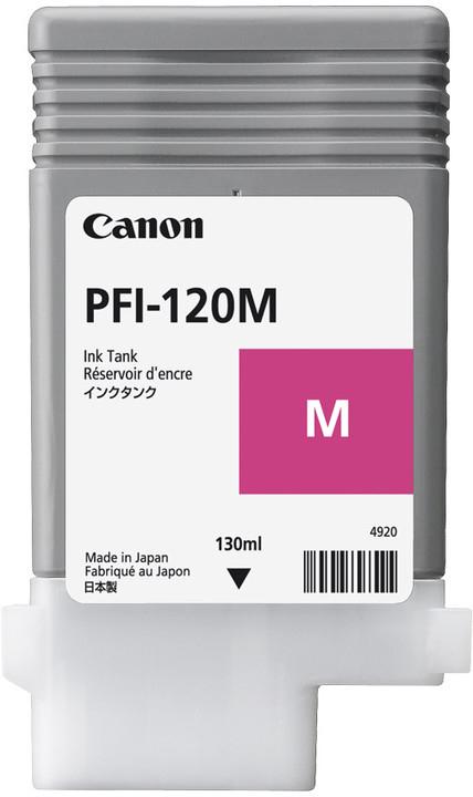 Canon Original PFI120M Magenta Inkjet Cartridge 2887C001
