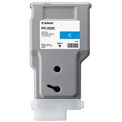 Canon Original PFI320C Cyan High Capacity Inkjet Cartridge 2891C001