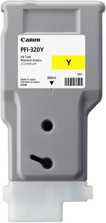 Canon Original PFI320Y Yellow High Capacity Inkjet Cartridge 2893C001