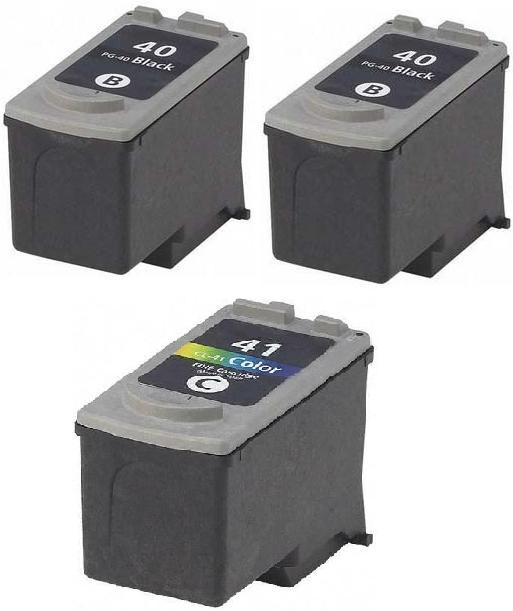 Remanufactured Canon PG-40 and CL-41 Ink Cartridges + EXTRA BLACK
