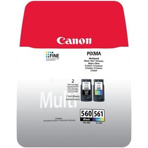 Canon Original PG-560 & CL-561 Black & Colour Inkjet Cartridge Multipack - (3713C006)