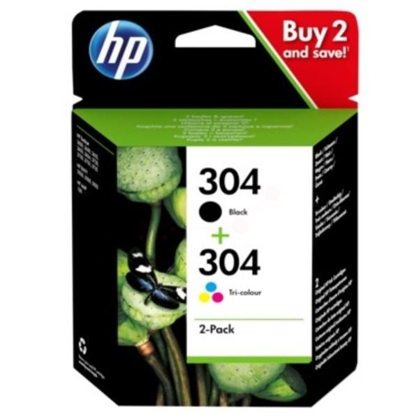 Original HP 304 Black & Tri-Colour Ink Cartridge Multipack - (3JB05AE)