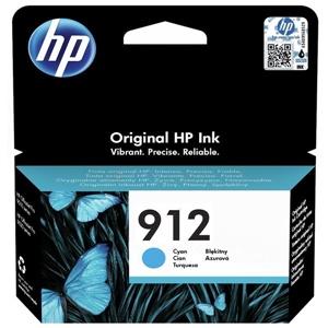 HP Original 912 Cyan Inkjet Cartridge - (3YL77AE)