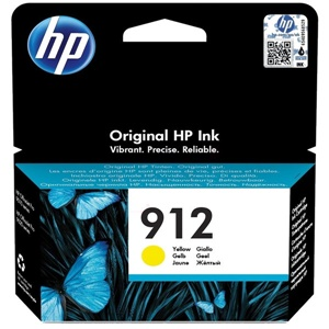 HP Original 912 Yellow Inkjet Cartridge - (3YL79AE)