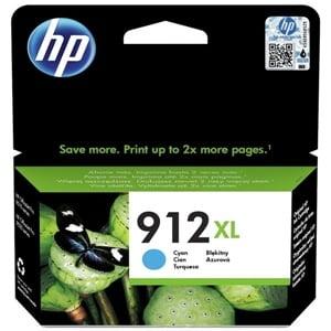 HP Original 912XL Cyan High Capacity Inkjet Cartridge - (3YL81AE)