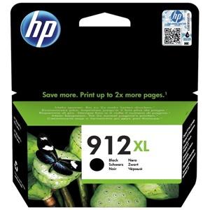 HP Original 912XL Black High Capacity Inkjet Cartridge - (3YL84AE)