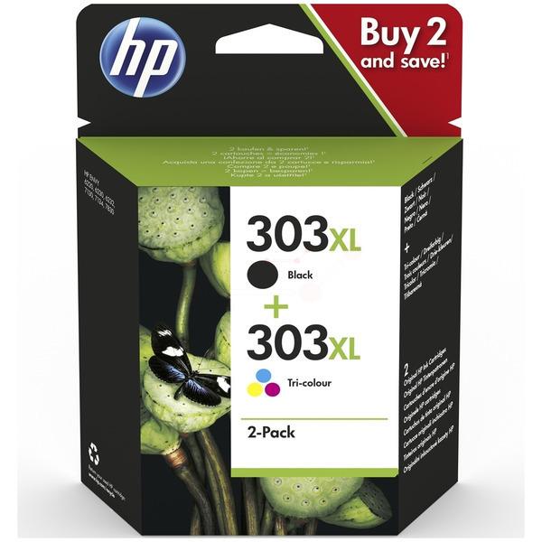 Original HP 303XL Black & Tri-Colour Ink Cartridge Multipack (3YN10AE)