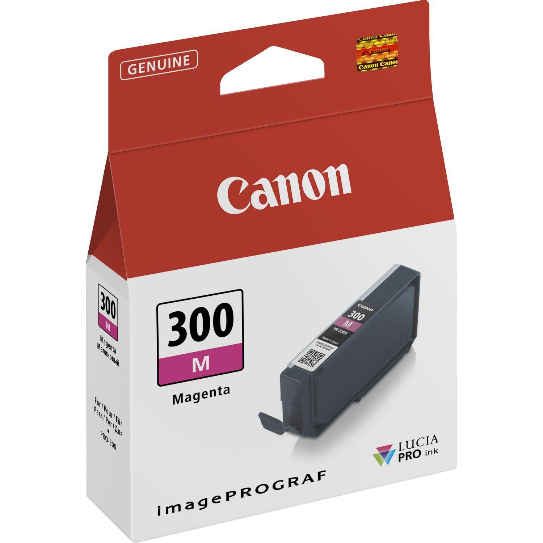 Canon Original PFI300M Magenta Inkjet Cartridge 4195C001