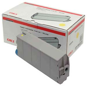Original OKI 41963005 Yellow Toner Cartridge