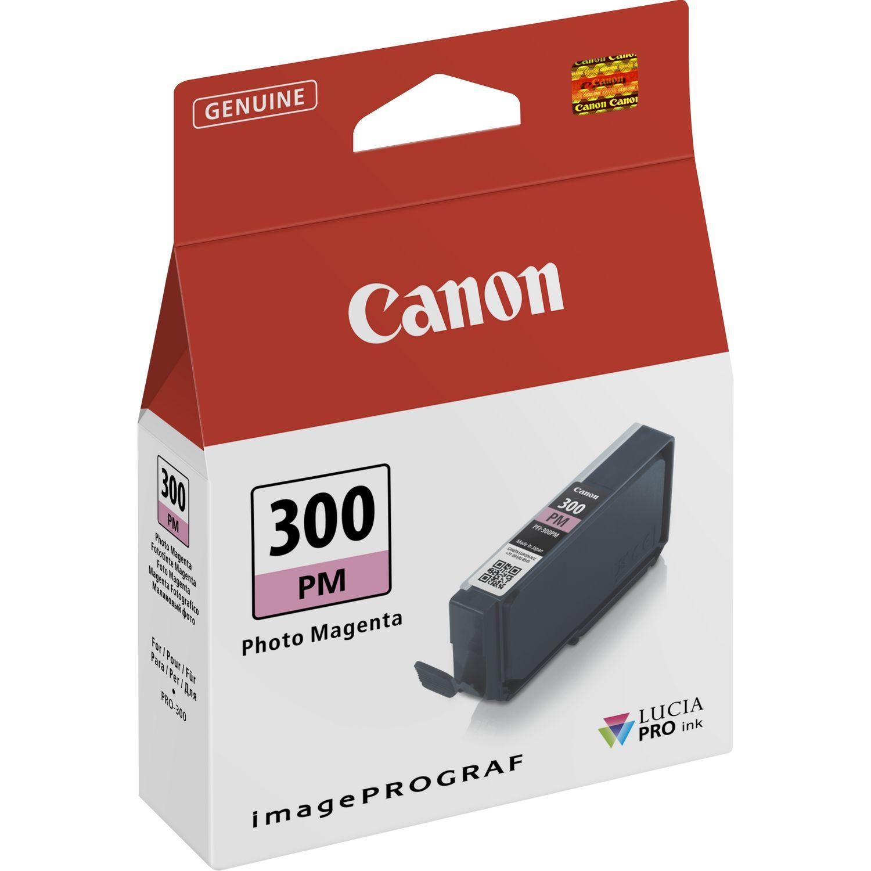 Canon Original PFI300PM Photo Magenta Inkjet Cartridge 4198C001