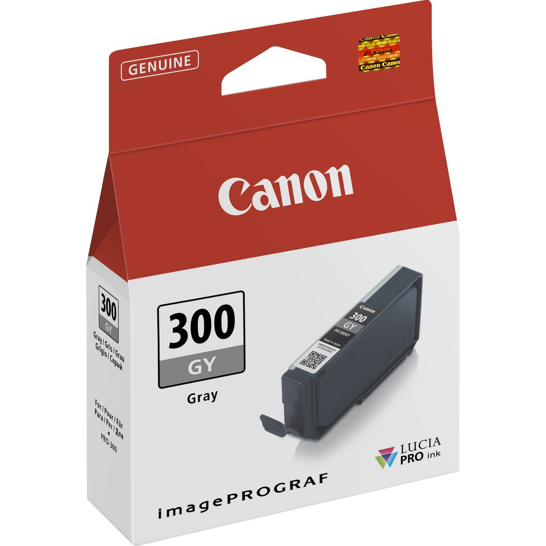 Canon Original PFI300GY Grey Inkjet Cartridge 4200C001