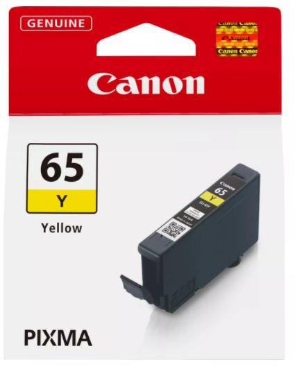 Canon Original CLI-65Y Yellow Inkjet Cartridge 4218C001