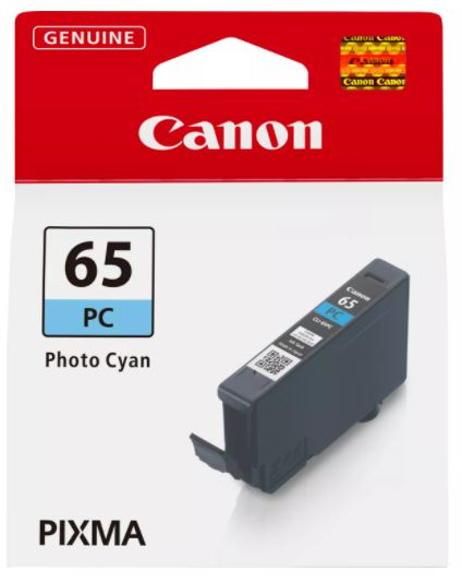 Canon Original CLI-65PC Photo Cyan Inkjet Cartridge 4220C001