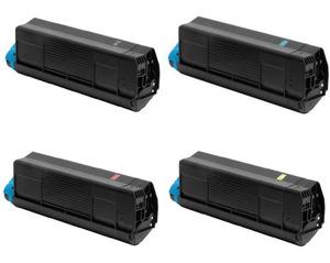 Compatible OKI 4280451 Toner Cartridge Multipack  (42804516/5/4/3)