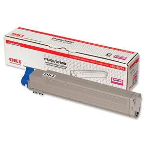 Original OKI 42918914 Magenta Toner Cartridge