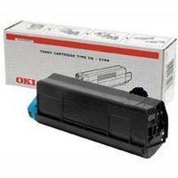 Original OKI 43487712 Black Toner Cartridge