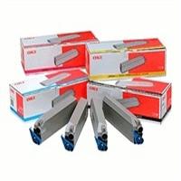 Original OKI 43698501 a set of 4 cartridges Rainbow Pack