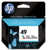 Original HP 49 Colour Ink Cartridge (51649AE)