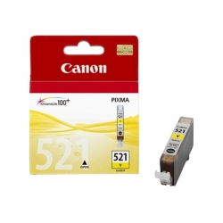 Original Canon CLI-521Y  Yellow Ink cartridge