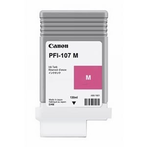 Canon Original PFI-107M Magenta Ink Cartridge (6707B001AA)